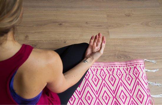 Práctica de yoga