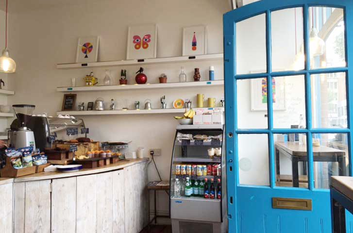 librería cafetería londres