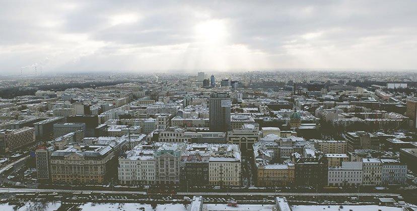 destinos para vacaciones varsovia